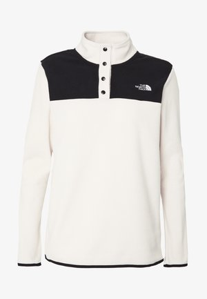 WOMEN'S GLACIER SNAP NECK - Fleecegenser - vintage white/black