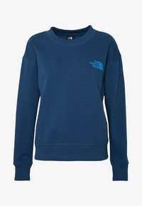 The North Face - WOMENS PARKS SLIGHTLY CROPPED CREW - Sweatshirt - blue wing teal - 4