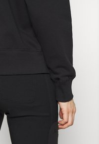 The North Face - WOMENS PARKS SLIGHTLY CROPPED CREW - Bluza - black - 5