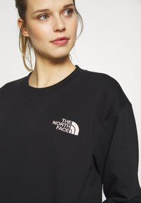 The North Face - WOMENS PARKS SLIGHTLY CROPPED CREW - Bluza - black - 2