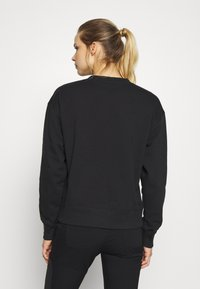 The North Face - WOMENS PARKS SLIGHTLY CROPPED CREW - Bluza - black - 3