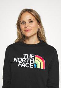 The North Face - RAINBOW CROPPED CREW - Sweatshirt - black - 3