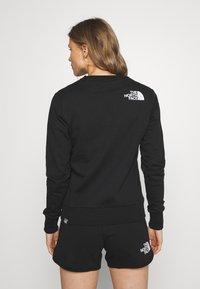 The North Face - RAINBOW CROPPED CREW - Sweatshirt - black - 2