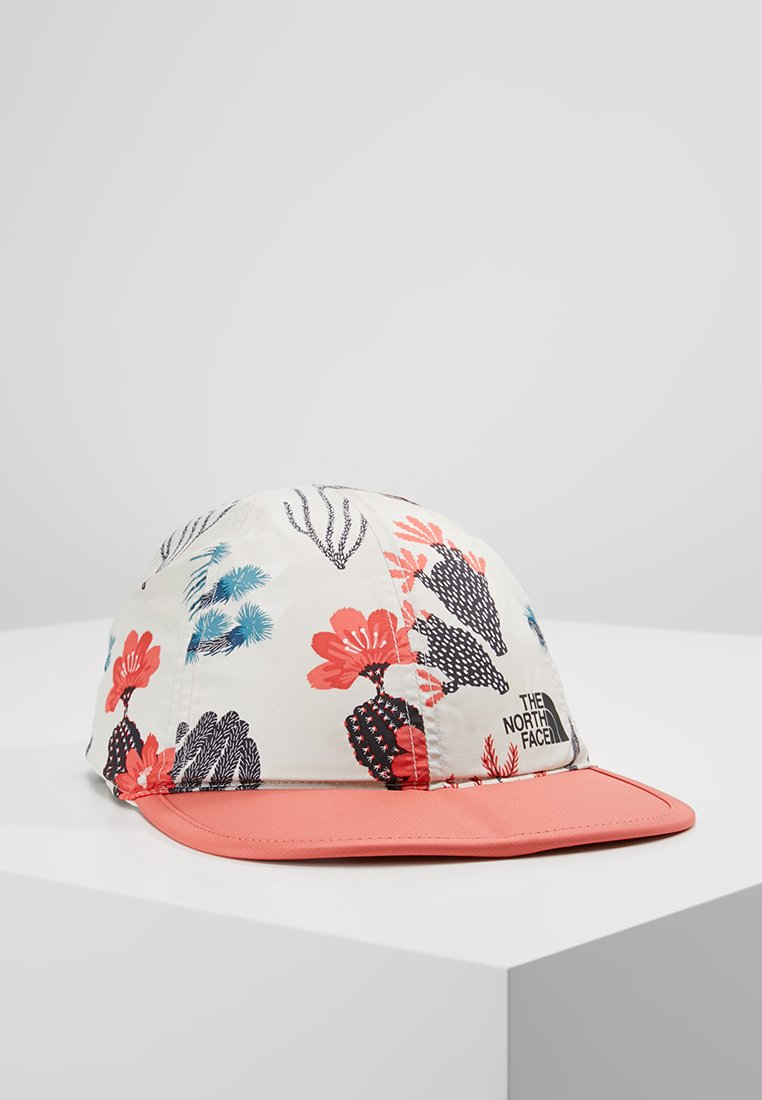 The North Face - SUN STASH  - Cap - vintage white/spiced coral