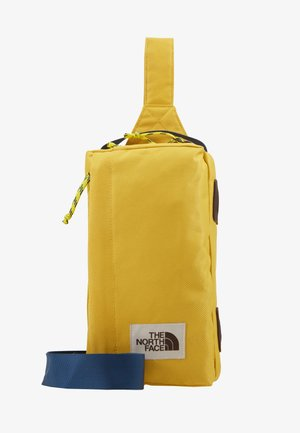 FIELD BAG - Sac bandoulière - yellow/blue/teal