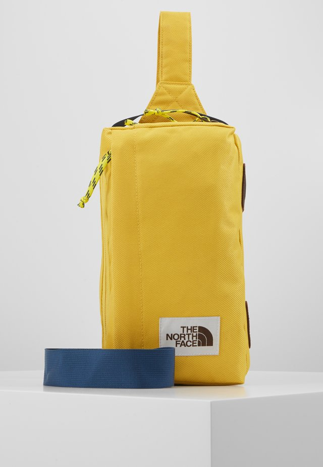FIELD BAG - Across body bag - yellow/blue/teal