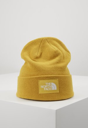 DOCK WORKER RECYCLED BEANIE - Čepice - yellow