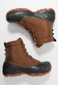 The North Face - TSUMORU - Snowboots  - monks robe brown/black - 1