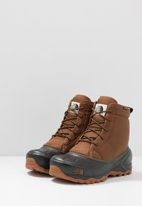 The North Face - TSUMORU - Snowboots  - monks robe brown/black - 2