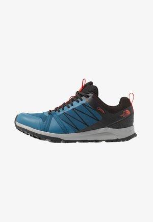 LITEWAVE FASTPACK II GTX - Hiking shoes - moroccan blue/black