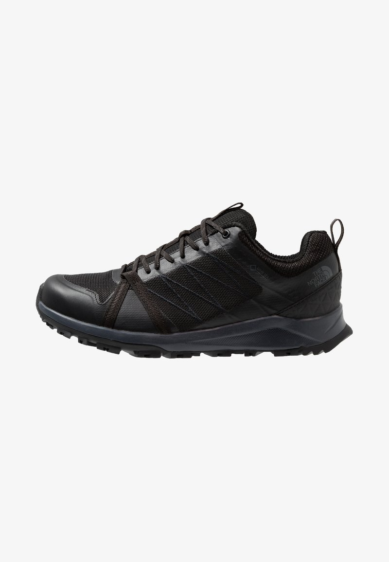 The North Face - LITEWAVE FASTPACK II GTX - Hiking shoes - black/ebony