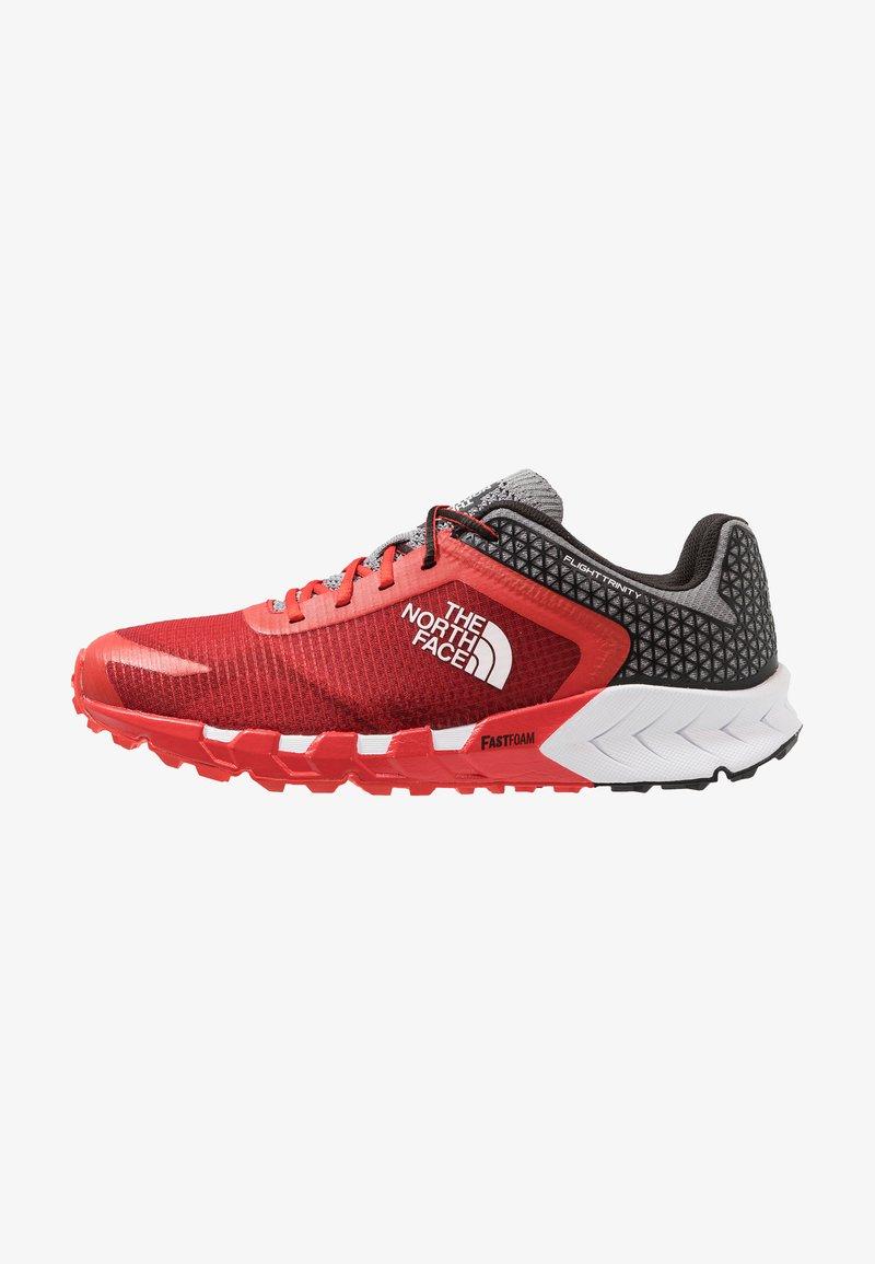 The North Face - FLIGHT TRINITY - Zapatillas de trail running - fiery red/black