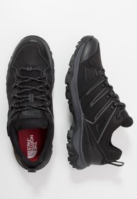 The North Face - Hiking shoes - black/dark shadow grey - 1