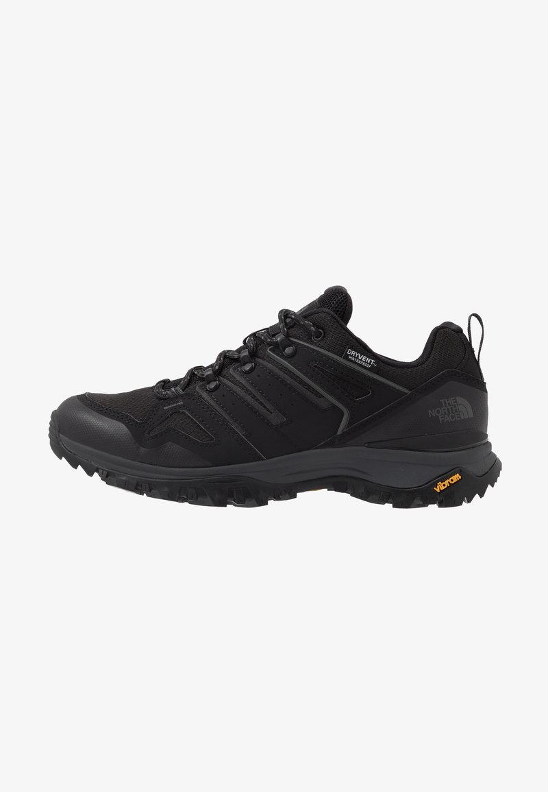 The North Face - Hiking shoes - black/dark shadow grey