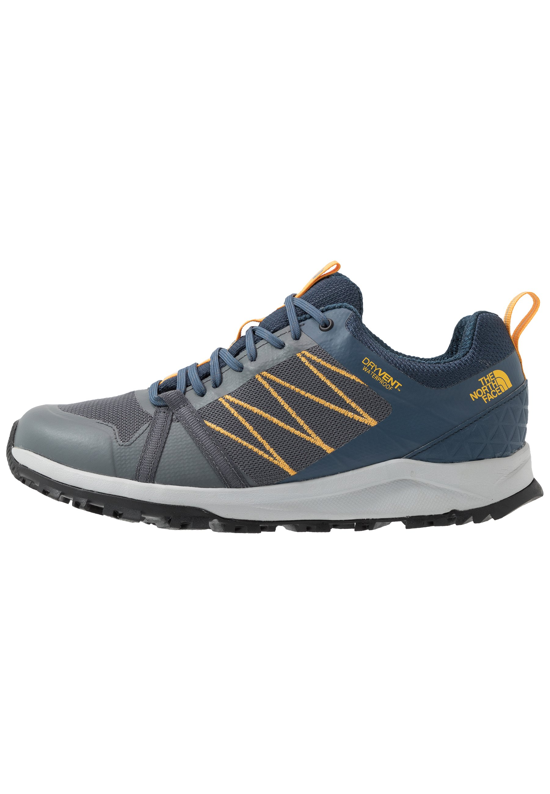The North Face Men's Litewave Fastpack Ii Wp - Fjellsko Zinc Grey/shady Blue