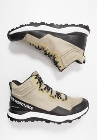 The North Face - Obuwie hikingowe - kelp tan/black - 1