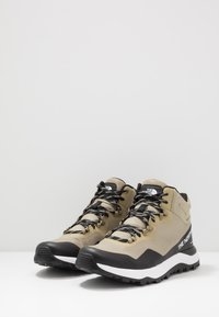 The North Face - Obuwie hikingowe - kelp tan/black - 2