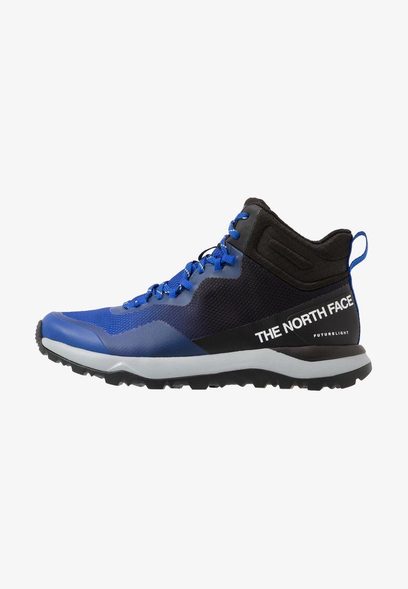 The North Face - Trekingové boty - blue/black