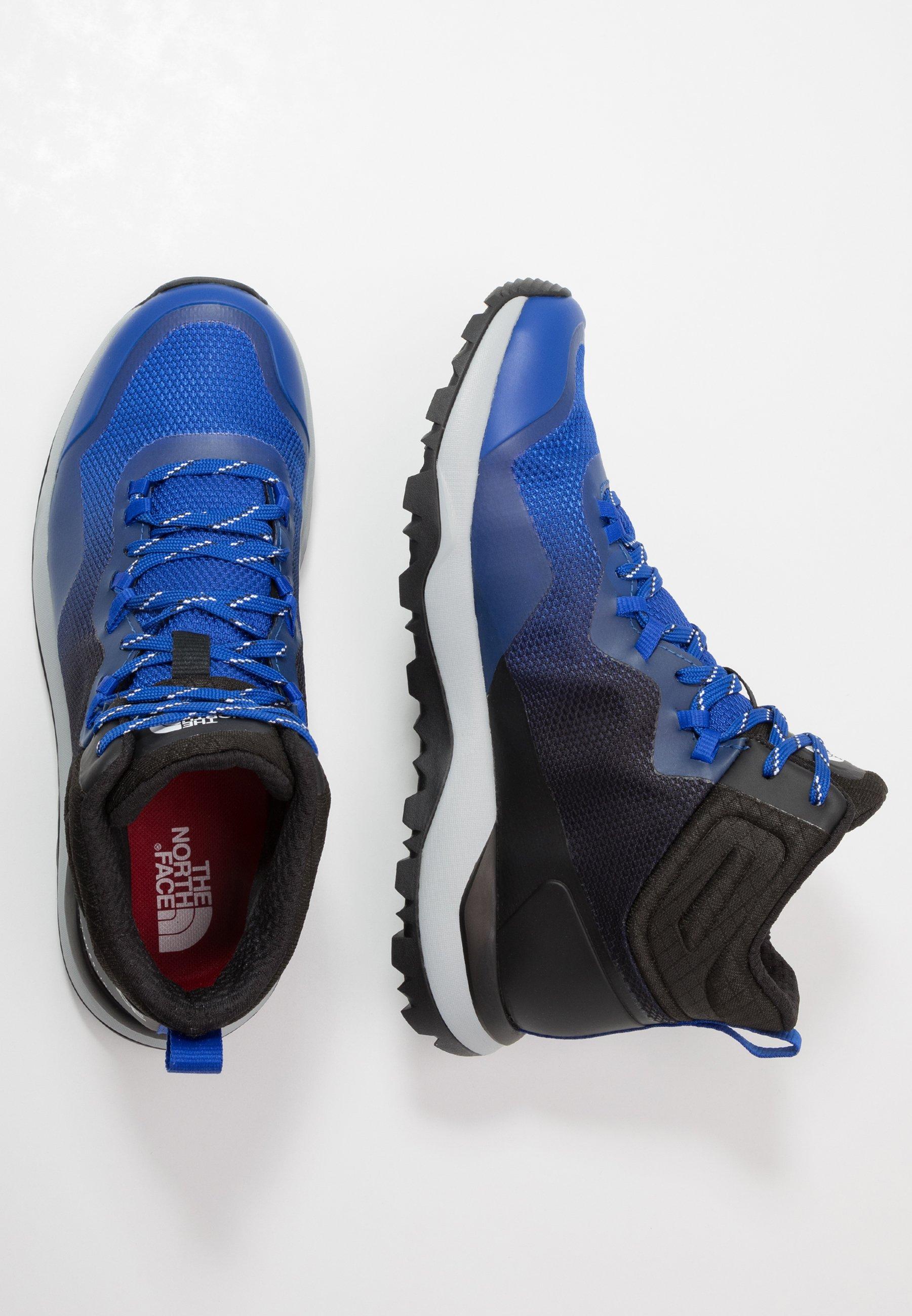 The North Face MEN'S ACTIVIST MID FUTURELIGHT - Hikingsko - blue/black YkyGd