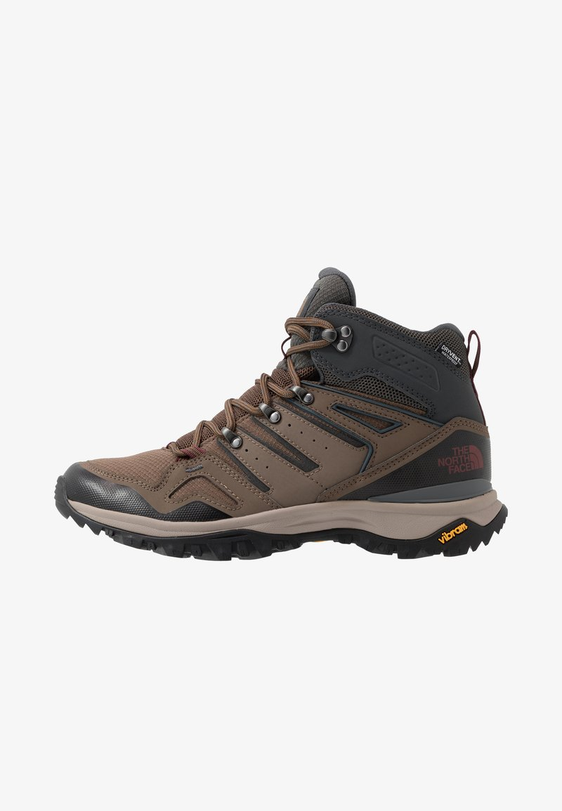 The North Face - Obuwie hikingowe - bipartisan brown/dark shadow grey