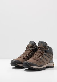 The North Face - Obuwie hikingowe - bipartisan brown/dark shadow grey - 2