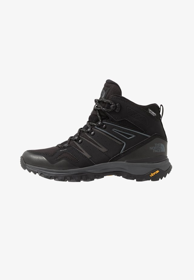 HEDGEHOG FASTPACK II MID WP - Hiking shoes - black