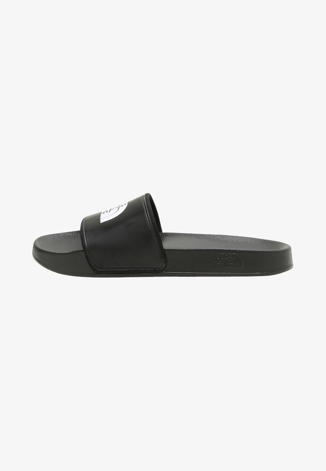 BASE CAMP SLIDE II - Chanclas de baño - black/white