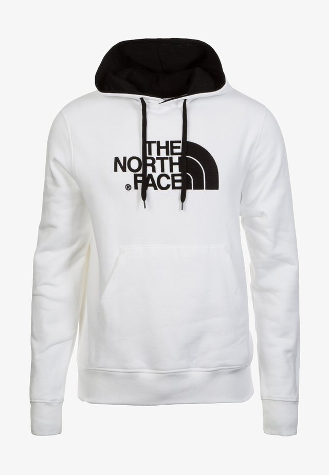 MENS DREW PEAK HOODIE - Bluza z kapturem - white/black
