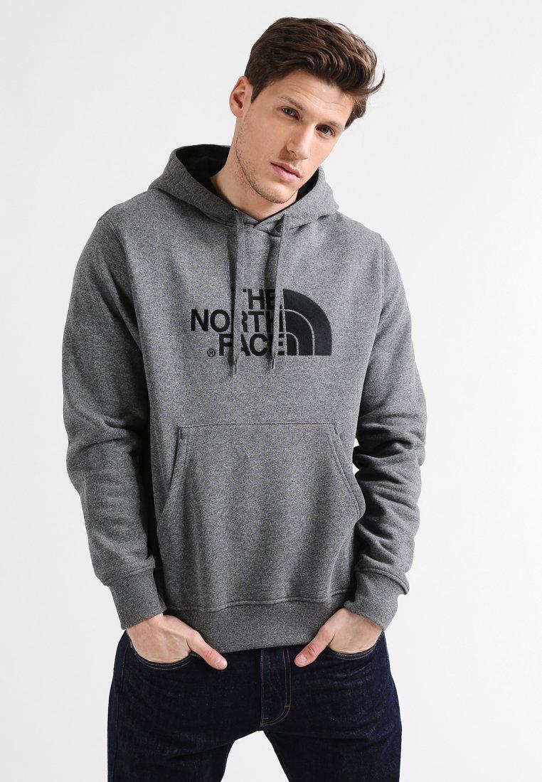 The North Face - DREW PEAK HOODIE - Sweat à capuche - mottled grey