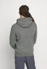 The North Face - MENS DREW PEAK HOODIE - Bluza z kapturem - medium grey heather/black - 2