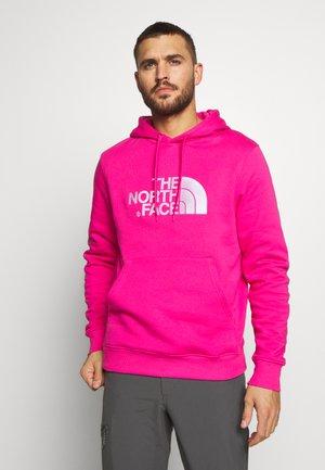 MENS DREW PEAK HOODIE - Bluza z kapturem - mr. pink