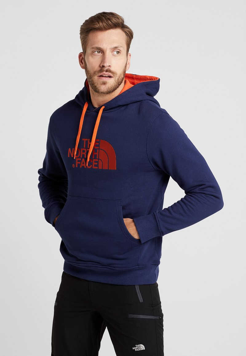 The North Face - DREW PEAK HOODIE - Jersey con capucha - montague blue