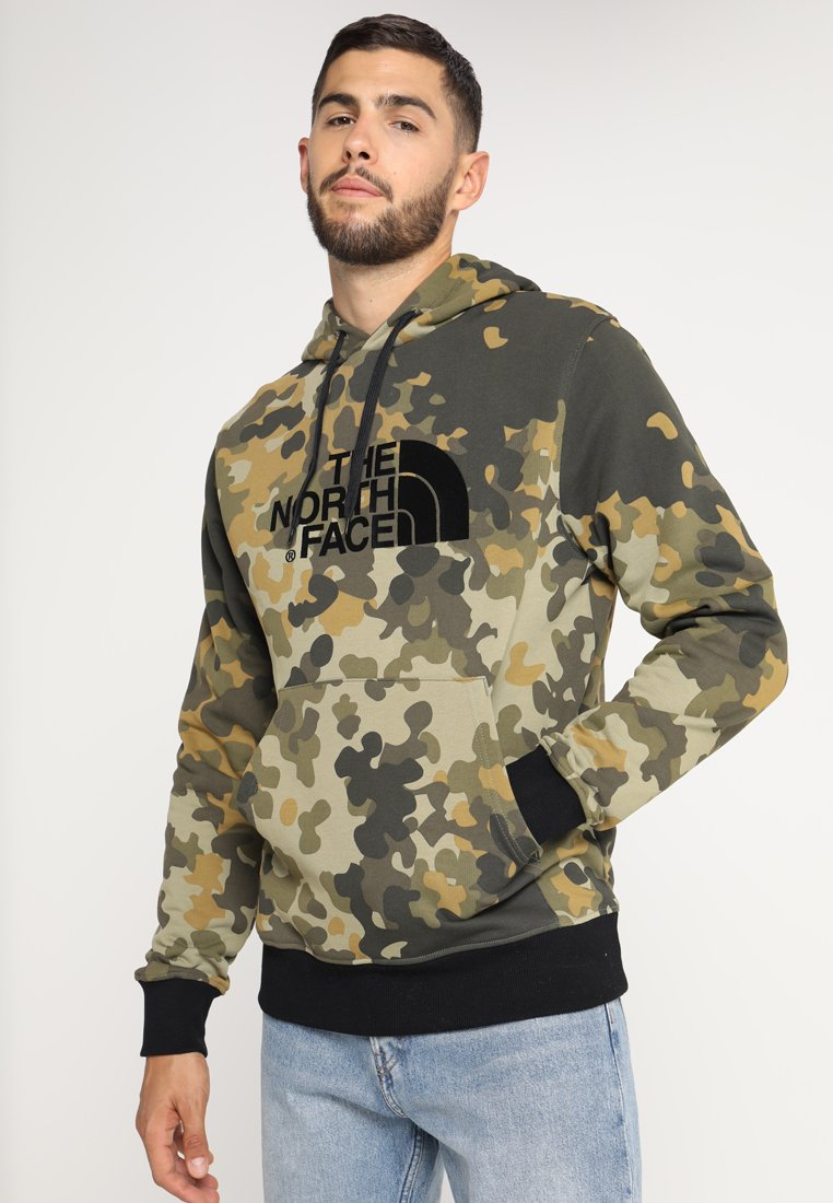 The North Face - DREW PEAK HOODIE - Jersey con capucha - olive