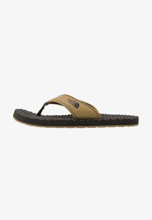MEN'S BASE CAMP II - T-bar sandals - british khaki/asphalt grey