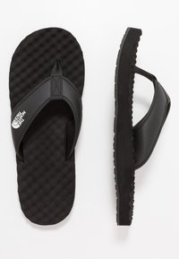 The North Face - MEN'S BASE CAMP II - T-bar sandals - black/white - 1