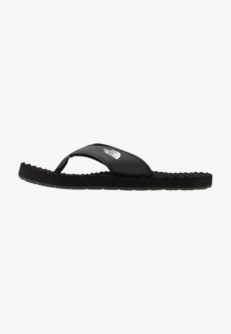 The North Face - MEN'S BASE CAMP II - T-bar sandals - black/white