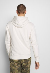 The North Face - MENS LIGHT DREW PEAK HOODIE - Bluza z kapturem - vintage white/black - 2