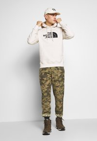 The North Face - MENS LIGHT DREW PEAK HOODIE - Bluza z kapturem - vintage white/black - 1