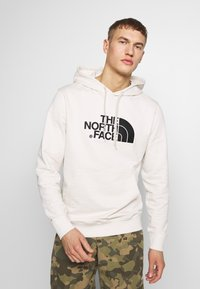 The North Face - MENS LIGHT DREW PEAK HOODIE - Bluza z kapturem - vintage white/black - 0