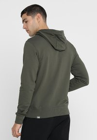 The North Face - MENS LIGHT DREW PEAK HOODIE - Bluza z kapturem - new taupe green