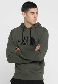 The North Face - MENS LIGHT DREW PEAK HOODIE - Bluza z kapturem - new taupe green - 0