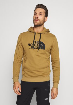 MENS LIGHT DREW PEAK HOODIE - Huppari - british khaki