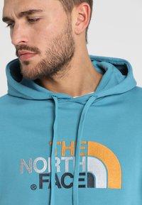 The North Face - MENS LIGHT DREW PEAK HOODIE - Bluza z kapturem - storm blue - 5