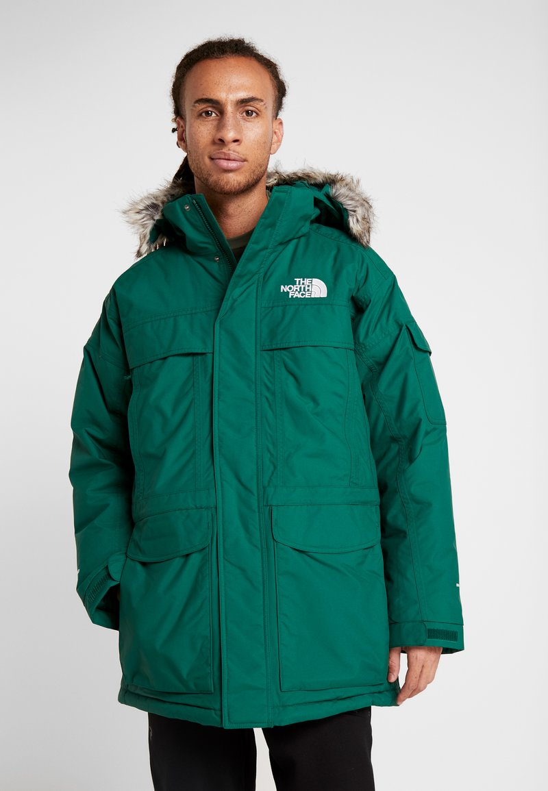 The North Face - MCMURDO - Down coat - night green