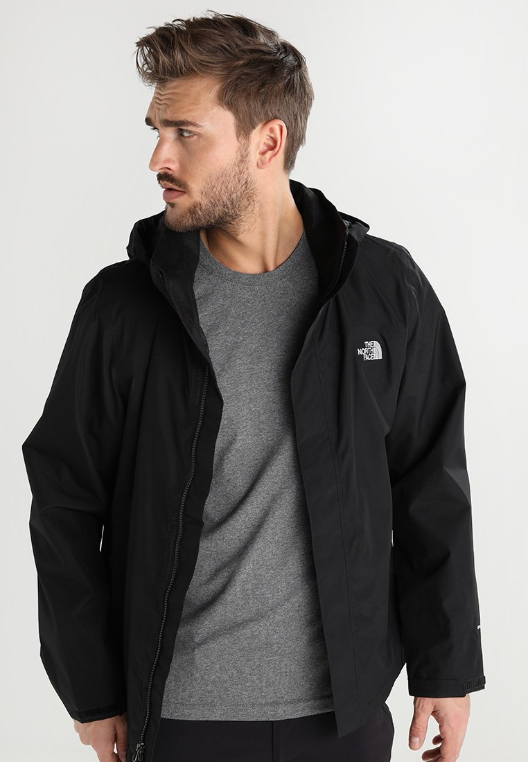 The North Face - SANGRO - Hardshelljacke - black