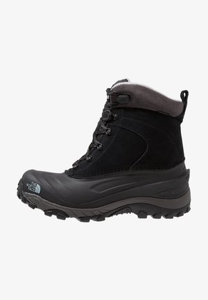 CHILKAT III - Snowboot/Winterstiefel - black/dark gull grey