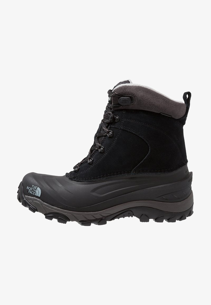 The North Face - CHILKAT III - Botas para la nieve - black/dark gull grey