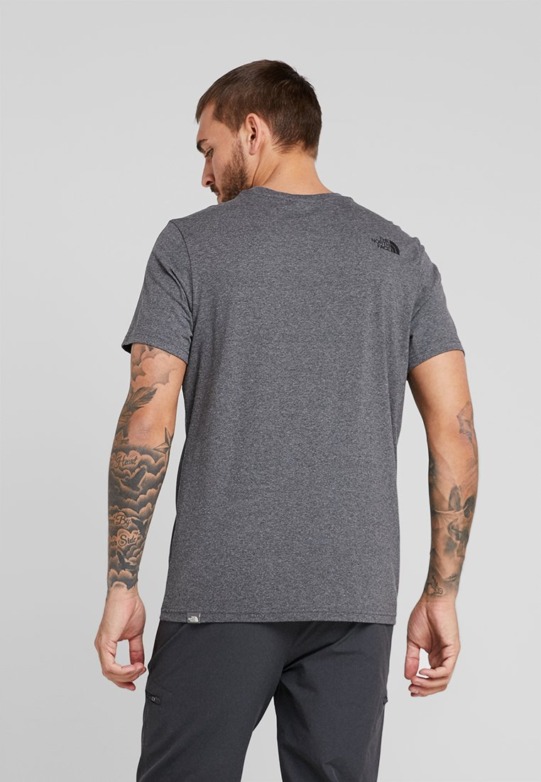 Basique North Grey The TeeT Dome Face Simple shirt UpVqzSMG