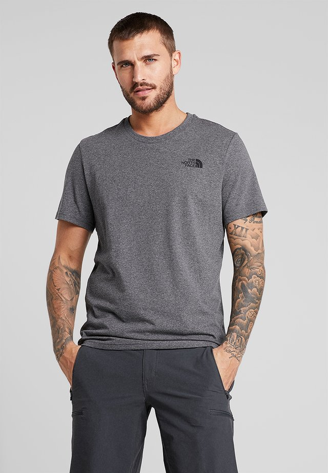 MENS SIMPLE DOME TEE - Basic T-shirt - grey