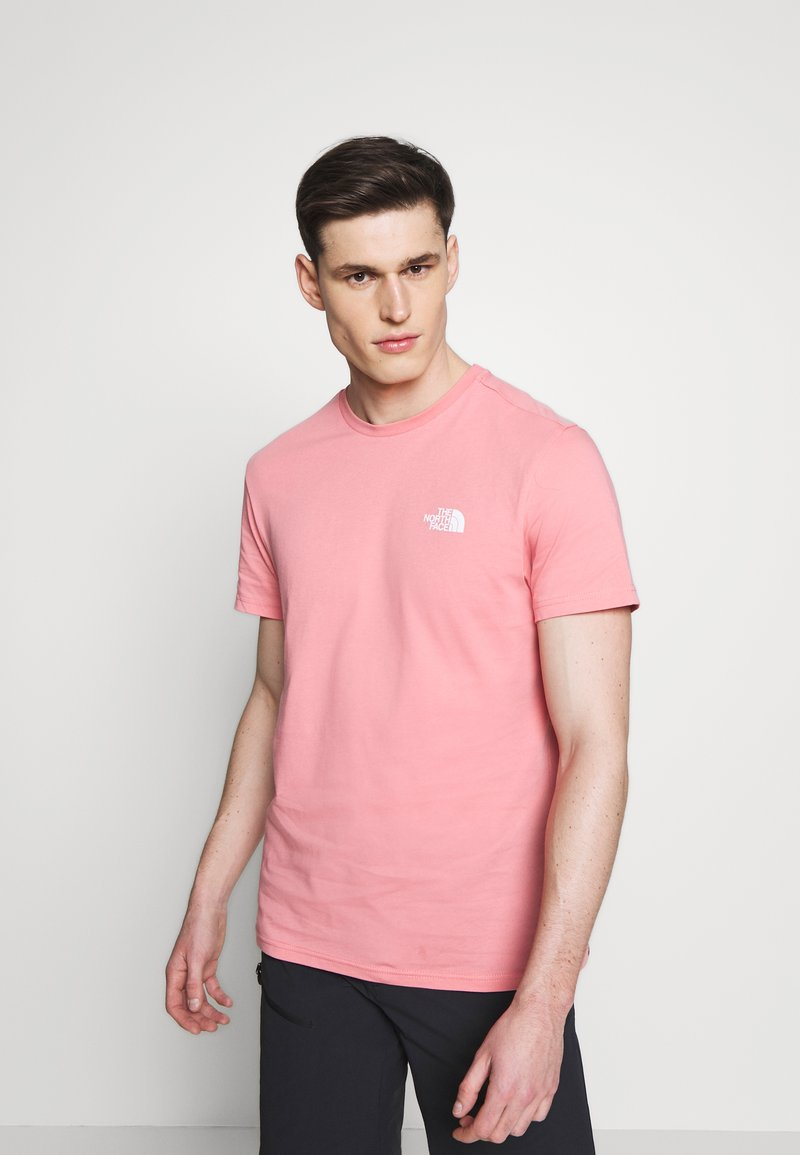 The North Face - MENS SIMPLE DOME TEE - Basic T-shirt - mauveglow